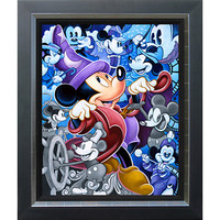 Mickey Mouse ''Celebrate the Mouse'' Giclée by Tim Rogerson