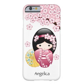Spring Kokeshi Doll Personalized