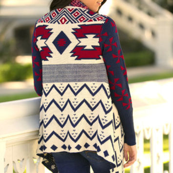 Cabin Retreat Open Cardigan