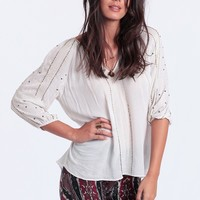 Meredith Beaded Blouse | Threadsence