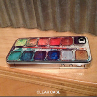iphone 4s case iphone 4 case - Watercolor Set iPhone Case