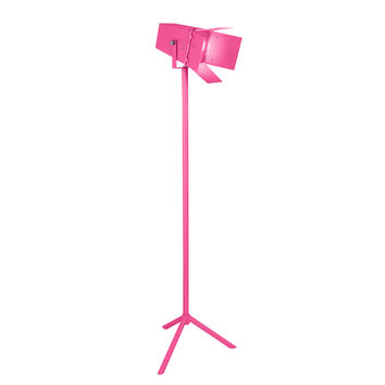 Lumisource Academy Reader Floor Lamp in Pink