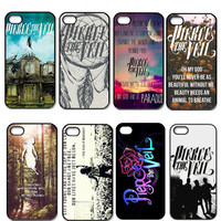 Hot Pierce The Veil Hard Plastic Case Back Skin Cover For iPhone 4 4S 5 5G 5S 5C