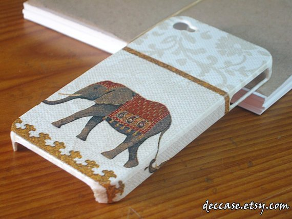 Case iPhone 4, iPhone 4 Case, iPhone Cases 4 - An Elephant