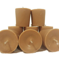 Cinnamon bun premium soy votive candles, US shipping included!