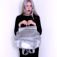 1990's Translucent Backpack