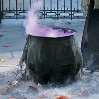 Foggy Halloween Cauldron