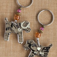 Dog  Token  Keychain  From  Natural  Life