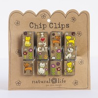 I  Love  My  Cat  Chip  Clips  From  Natural  Life