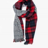 Need Supply Co. Oversized Plaid Scarf