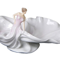 Gifts For Her | Swirling Skirt Porcelain Dish