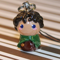 Frodo Lord of the Rings Chibi Charm