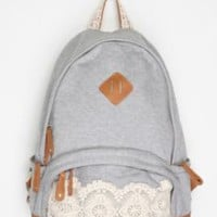 Kimchi Blue Lace &amp; Jersey Backpack