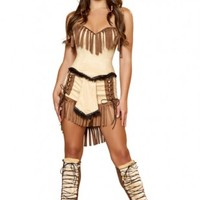 Tan 3pc Indian Mistress @ Amiclubwear costume Online Store,sexy costume,women's costume,christmas costumes,adult christmas costumes,santa claus costumes,fancy dress costumes,halloween costumes,halloween costume ideas,pirate costume,dance costume,costumes
