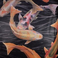 Shack Furnishings Galerie Wallpaper Natural Instinct 7810 Fish - Wallpaper