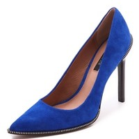 Ambrosia Zipper Pumps