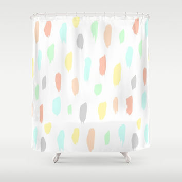 candy rain Shower Curtain by austeja saffron