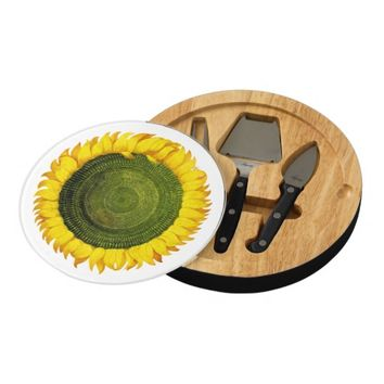 Italian Sunflower Cheese Board
