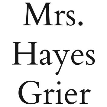Mrs. Hayes Grier T-Shirts & Hoodies