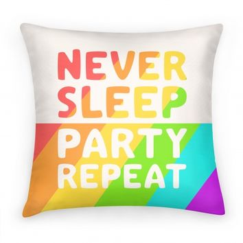 Never Sleep Party Repeat