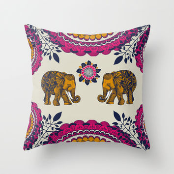 In Love  Throw Pillow by rskinner1122