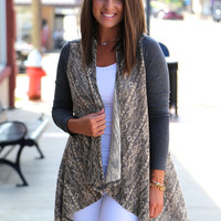 Indian Weave Cardigan