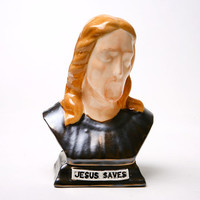 Jesus Saves Coin Bank -  Deposit for the Future