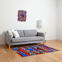 Sarah Bagshaw Leopard Strips Woven Rug