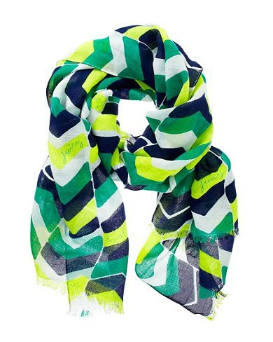 Juicy Couture | Chevron Striped Scarf