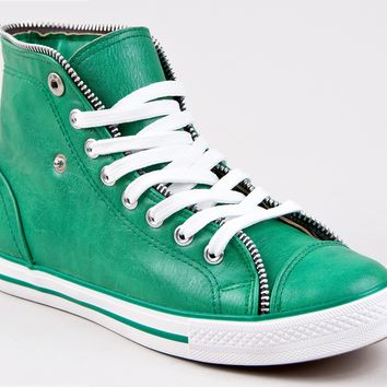 Breckelle's NEO-14 Lace Up Zipper Sneakers:Amazon:Shoes