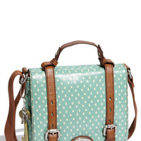 Fossil &#x27;Key-Per&#x27; Coated Canvas Shoulder Bag | Nordstrom