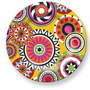 Sunshine Wheel Plate 11&quot;