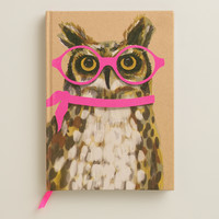 Neon Owl Bound Journal - World Market