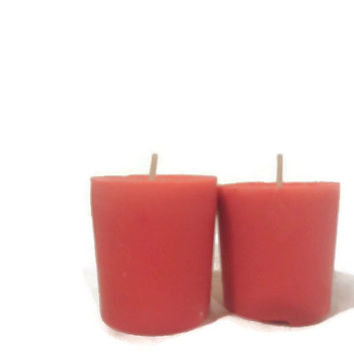 Spiced apple votive candles hand poured soy candles free