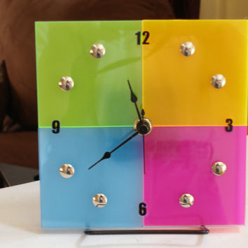 Time For A Sale Multicolor bright and cheery 6 inch wall