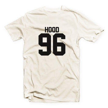 IVO-563 - HOOD 96 - Calum Hood - 5SOS - 5 Seconds of Summer - 5 Seconds of Summer - Cotton Blend Fashion T-Shirt