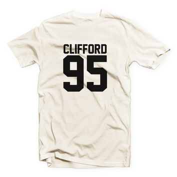 IVO-566 - CLIFFORD 95 - Michael Clifford - 5SOS - 5 Seconds of Summer - 5 Seconds of Summer - Cotton Blend Fashion T-Shirt