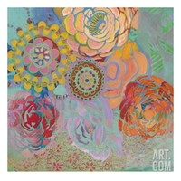 Bohemian Blossoms Giclee Print by Jeanne Wassenaar at Art.com
