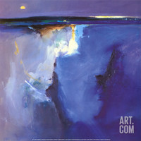 Violet Horizon Art Print by Peter Wileman at Art.com