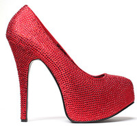 Bordello Dorothy Ruby Red Heels