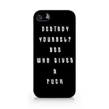 IPC-577 - Destroy Yourself - Luke Hemmings shirt - 5SOS - 5 Seconds of Summer - iPhone 4 / 4S / 5 / 5C / 5S / Samsung Galaxy S3 / S4 / S5