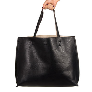 THE EVERYDAY LEATHER TOTE BAG