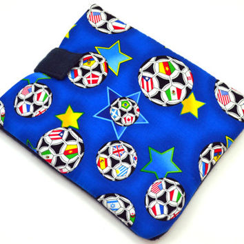"""Soccer Tablet Case /Sports Tablet Case For  Kindle Fire HD 7"""" ,i Pad Mini,Nook HD 7, Samsung Galaxy 7"""