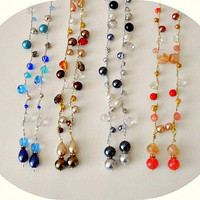 Summer Special - Crochet Beaded Lariats