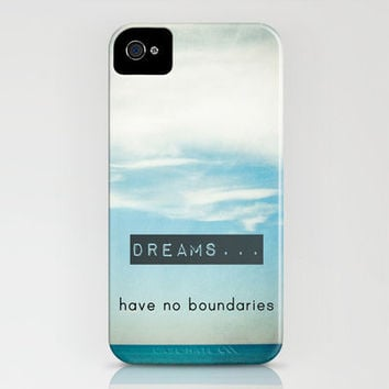 Dreams have no boundaries iPhone Case by Joy StClaire | Society6