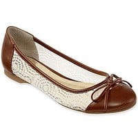 Nine & Co.® Nature Ballet Flats with Bow