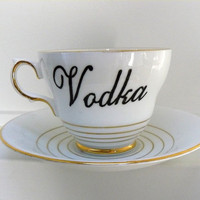 Vodka teacup