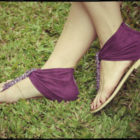 SALE 35%. size US 7-7.5. Purple sandals. womens shoes. Size 38 EUR