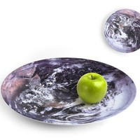 Earth Bowl - Melamine Serving Bowl Kikkerland - Whimsical &amp; Unique Gift Ideas for the Coolest Gift Givers