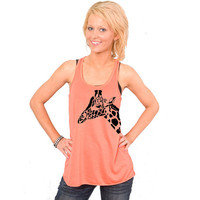 Giraffe Bella Flowy Tank